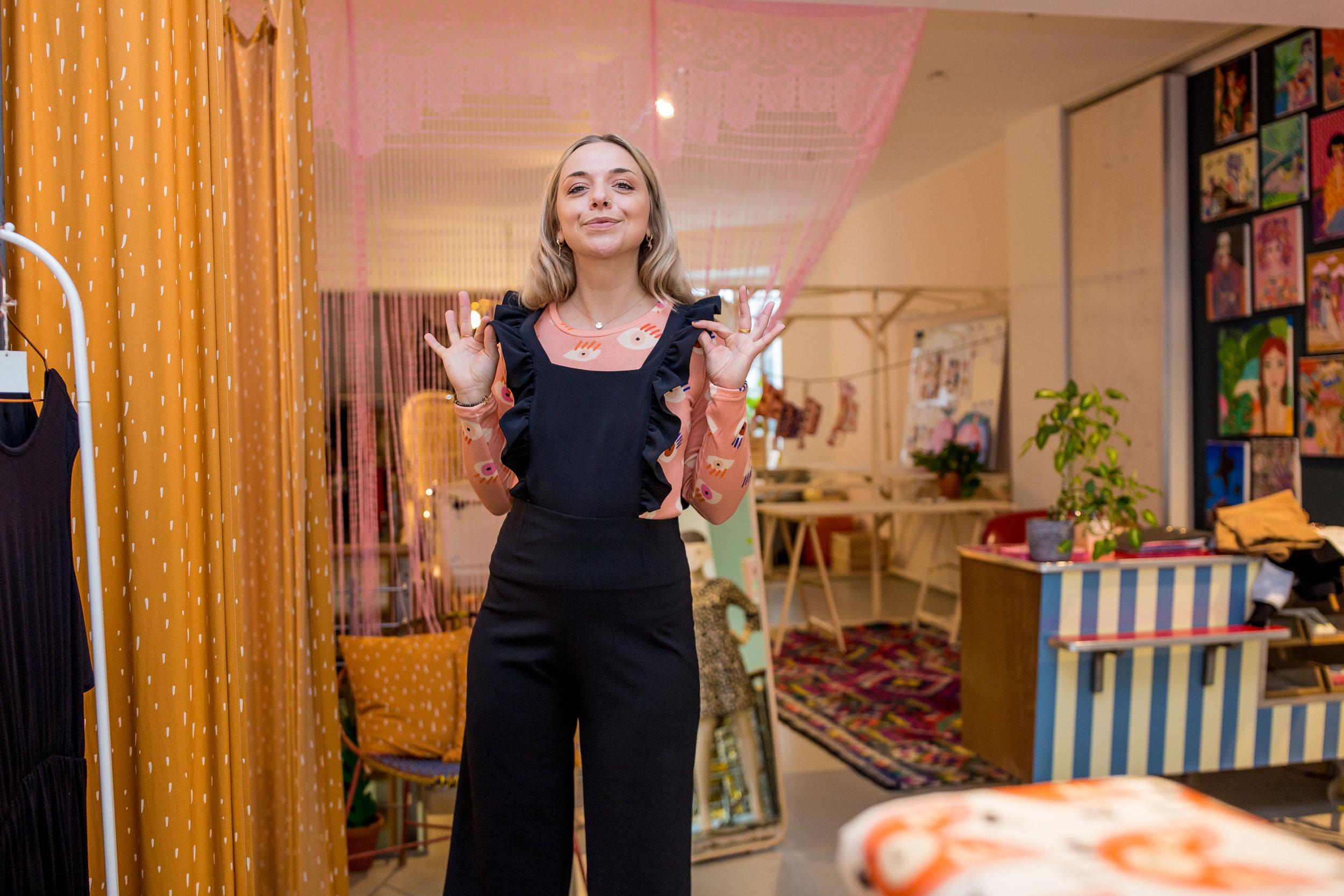 Foto: Jessica Weber  / Der Store von innen.