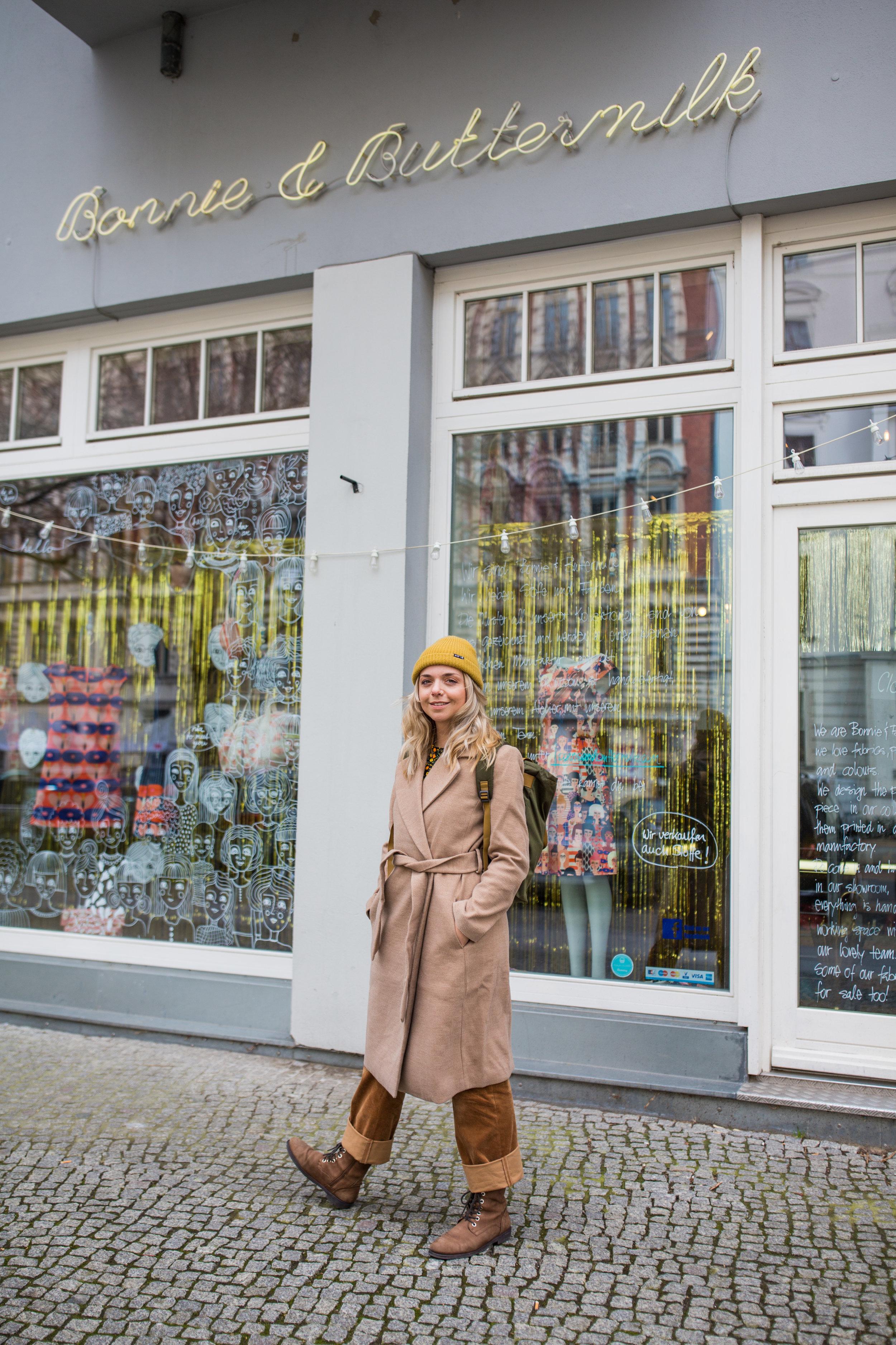 Der Store von außen / Foto: Jessica Weber