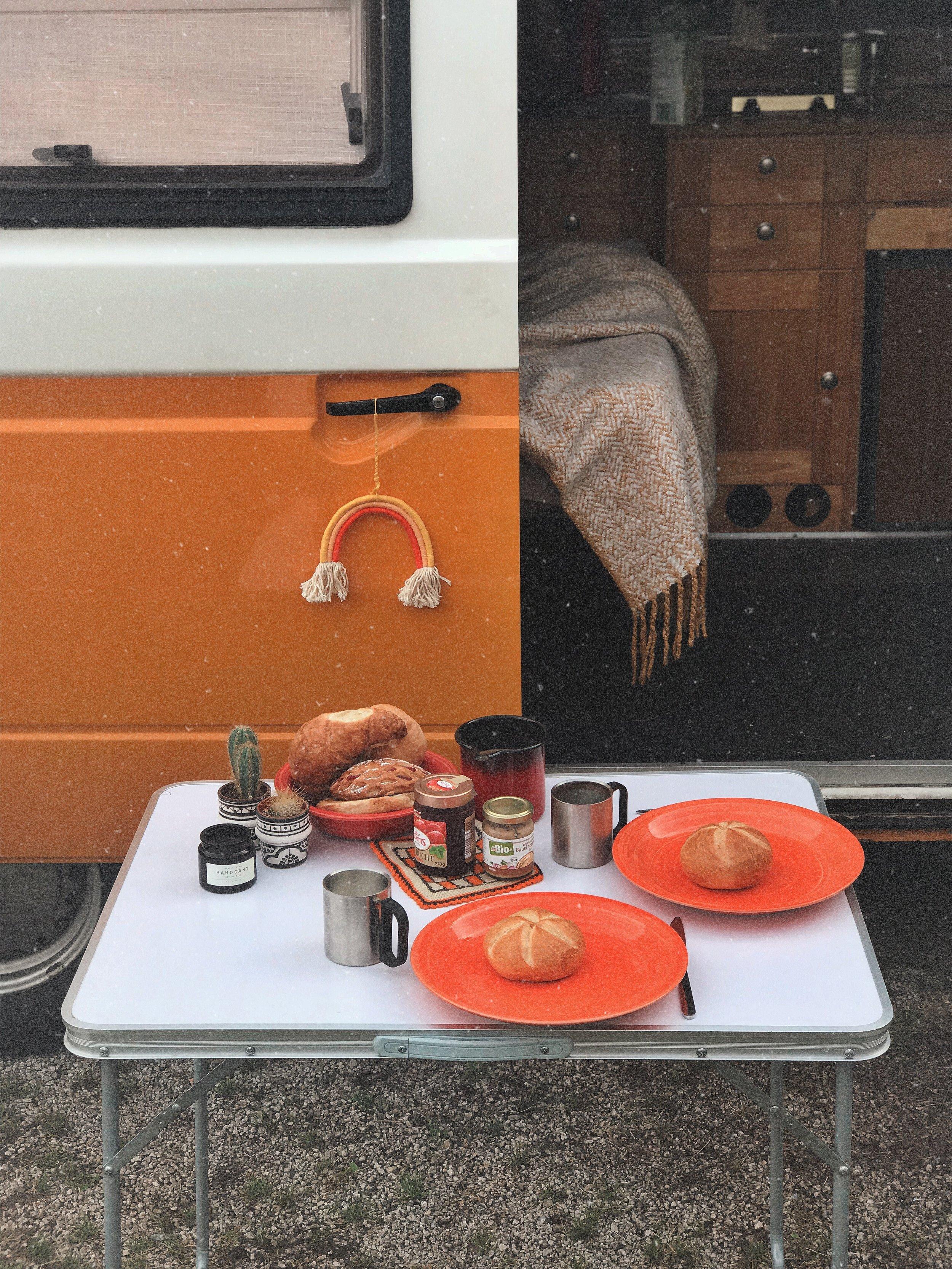 Camper Frühstück