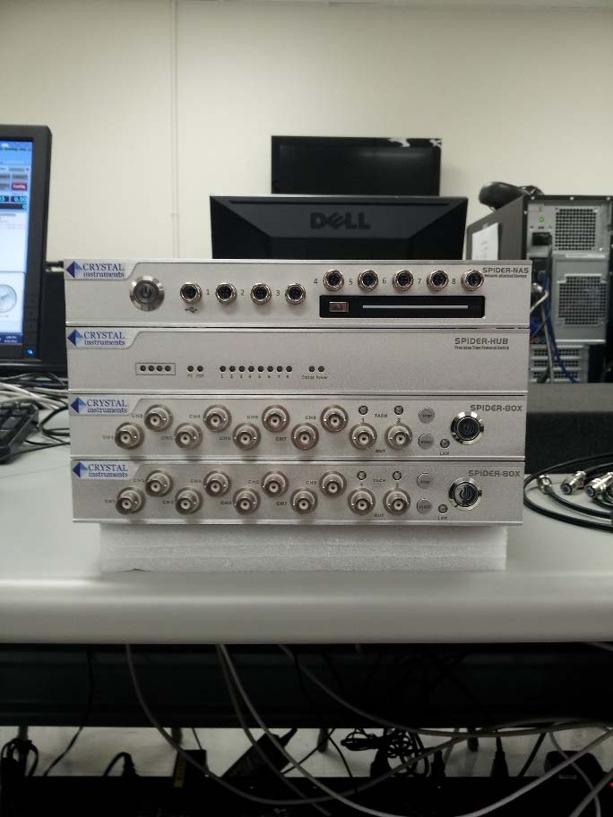Crystal Instruments' Modular Spider-80X Vibration Controller