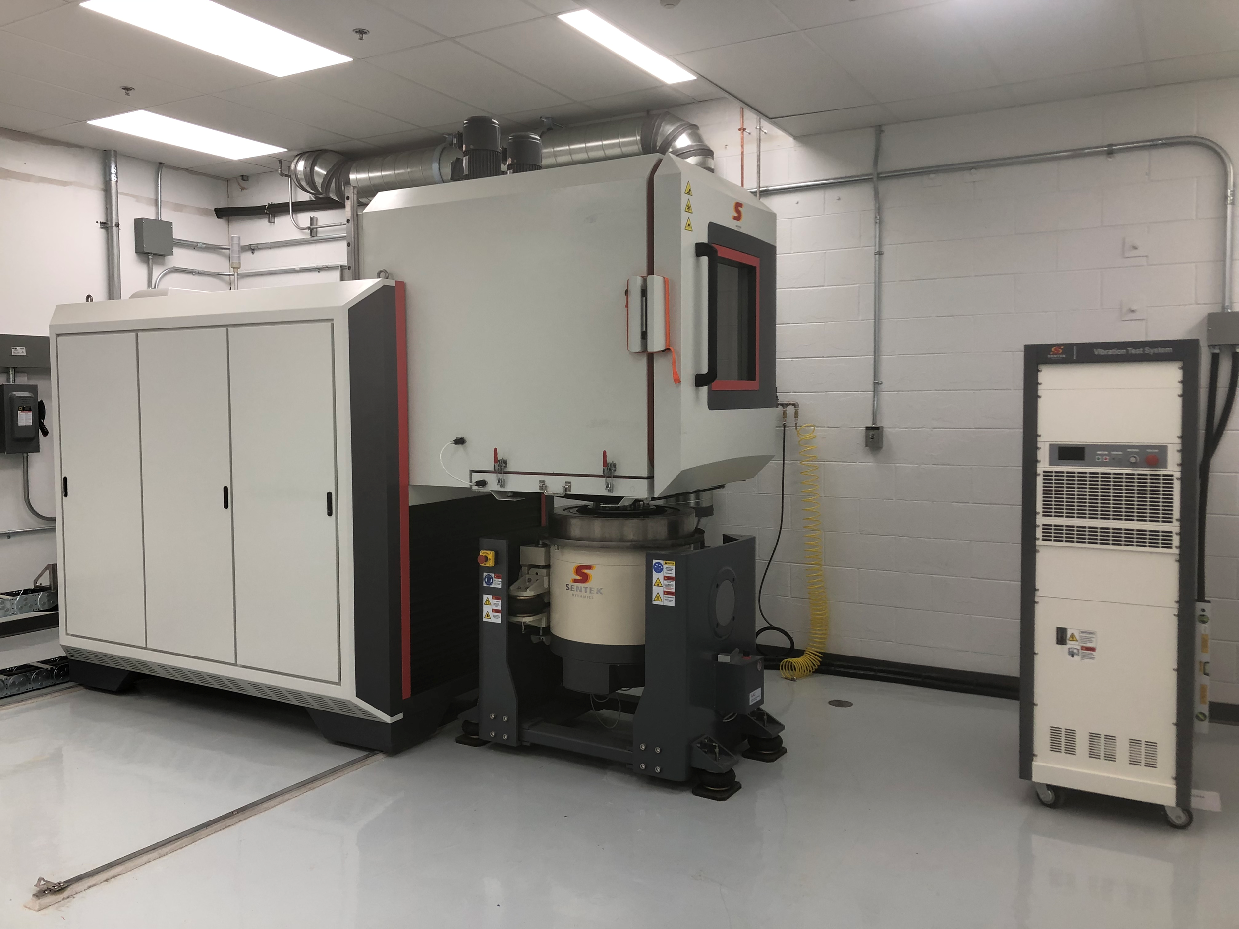 Sentek Dynamics' THV Series Chamber for Combined Temperature, Humidity and Vibration Testing