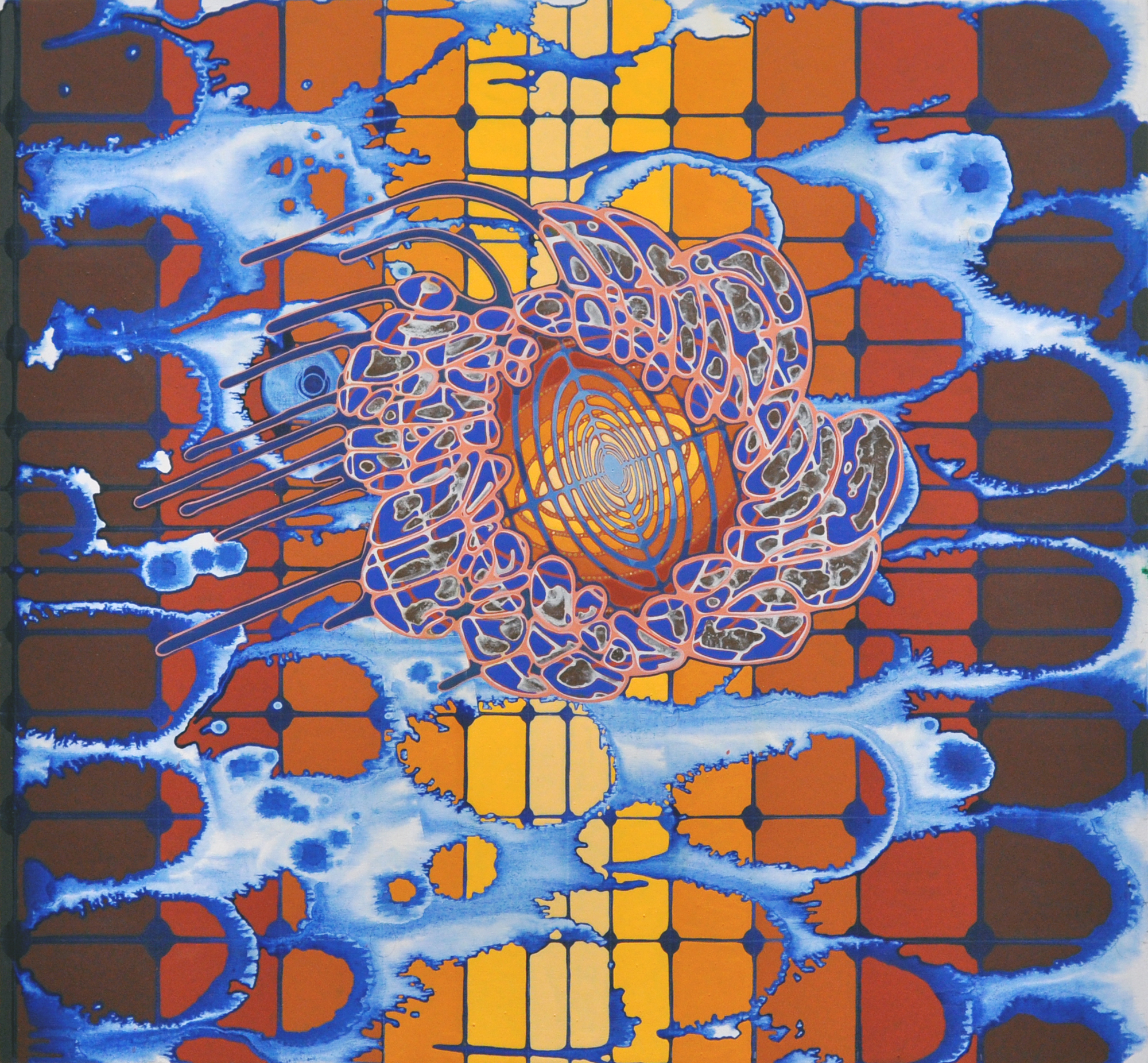 Sarah Walker   Voyager, 2015 acrylicon panel 26 x 28 inches