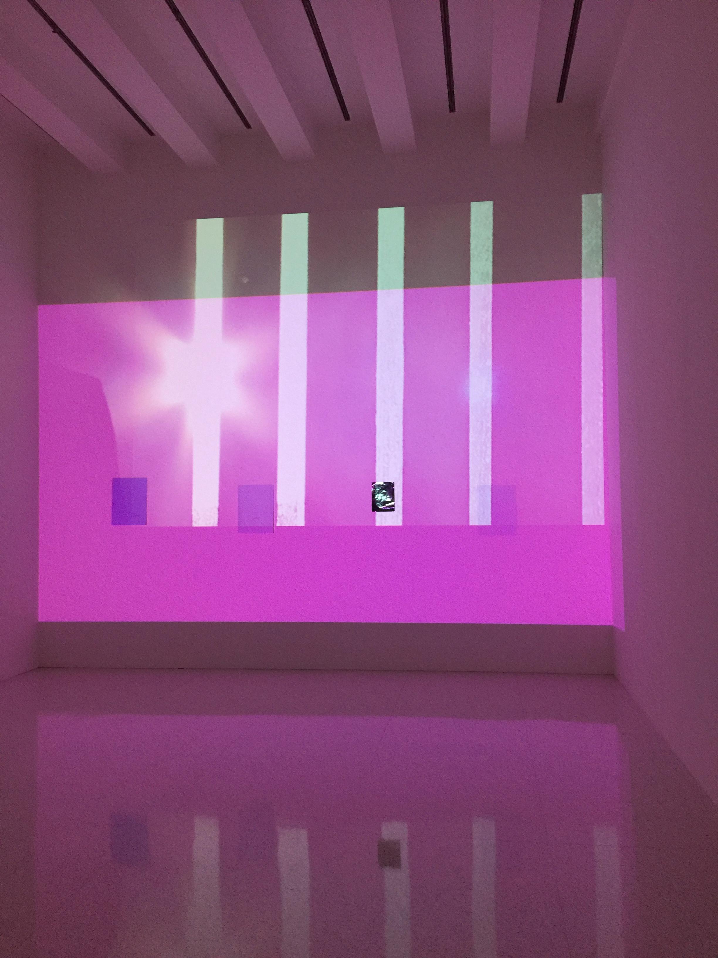 Installation view, Lee Kit: Hold your breath, dance slowly, Walker Art Center, Minneapolis, 2016.