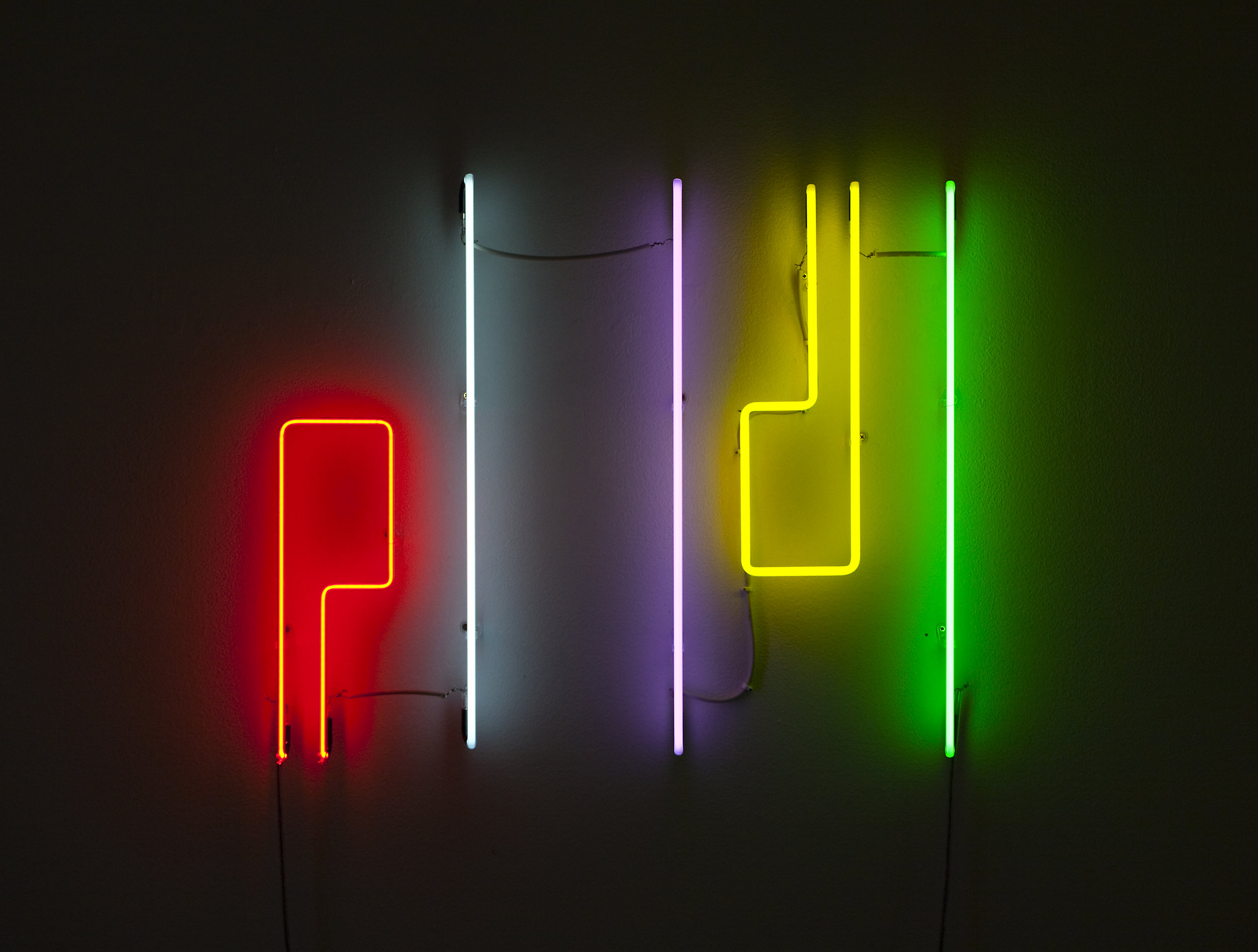 Shezad Dawood   I.A.M. , 2011 wall-mounted neon 25.98 x 29.92 inches 66 x 76 cm Edition 3 of 3