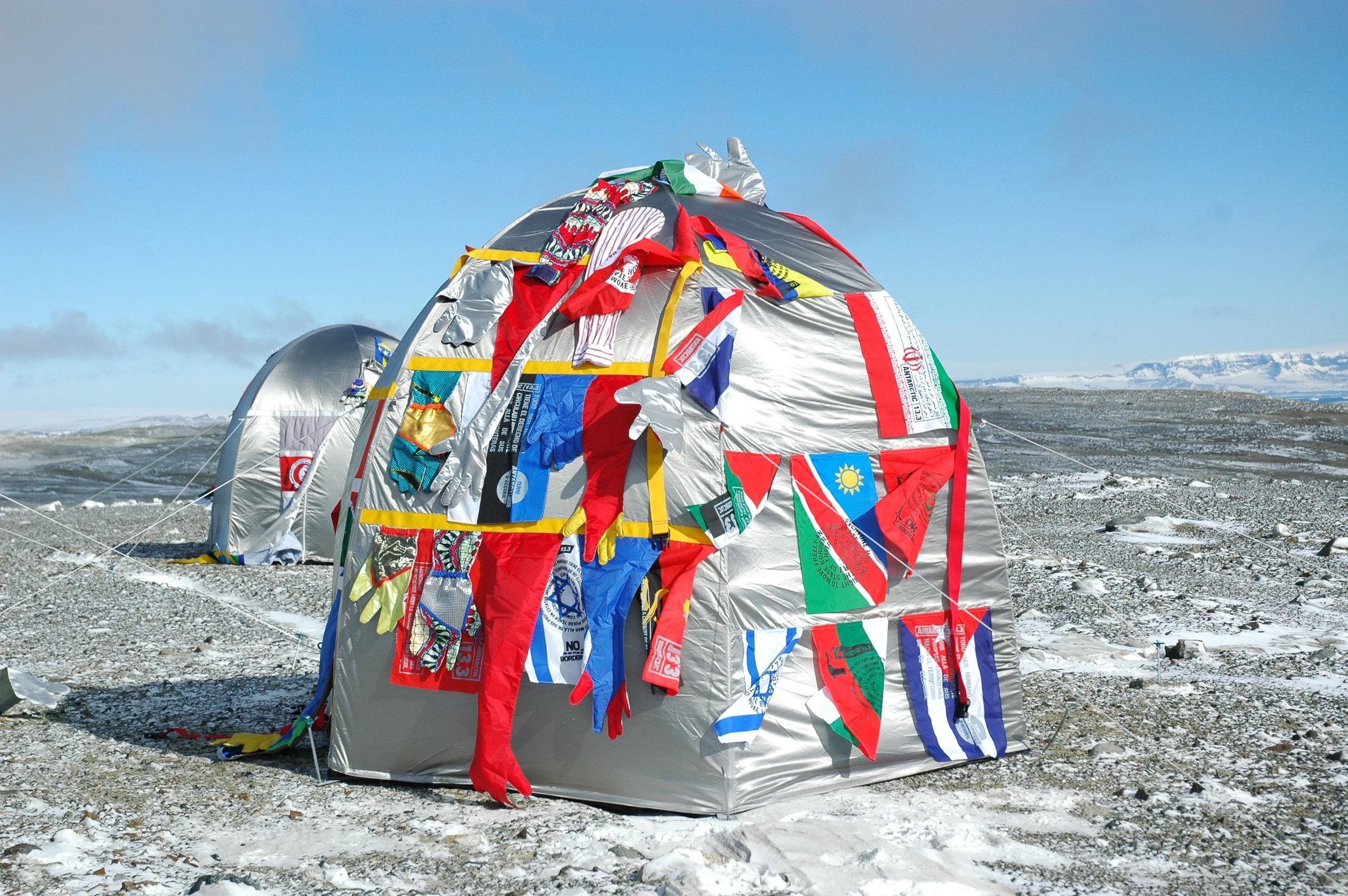 Antarctic Village - No Borders, Dome Dwelling,  2007