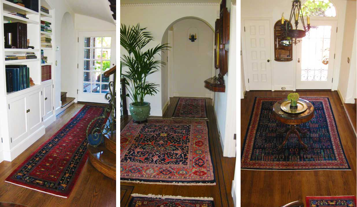 Persian Rugs for Clients Home in Petaluma California