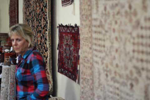 Paradise Oriental Rugs, Inc. Owner, Penny Krieger,