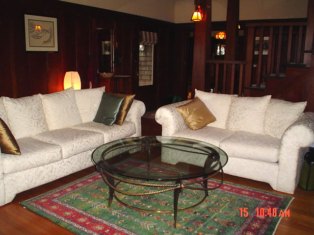 Client's living room, Berkeley, CA. Please see testimonials.