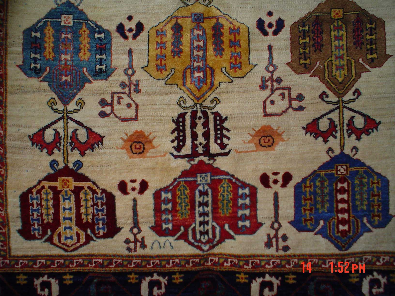5 x 8 Persian tribal rug. Luri weavers, Southern Iran. Sold.