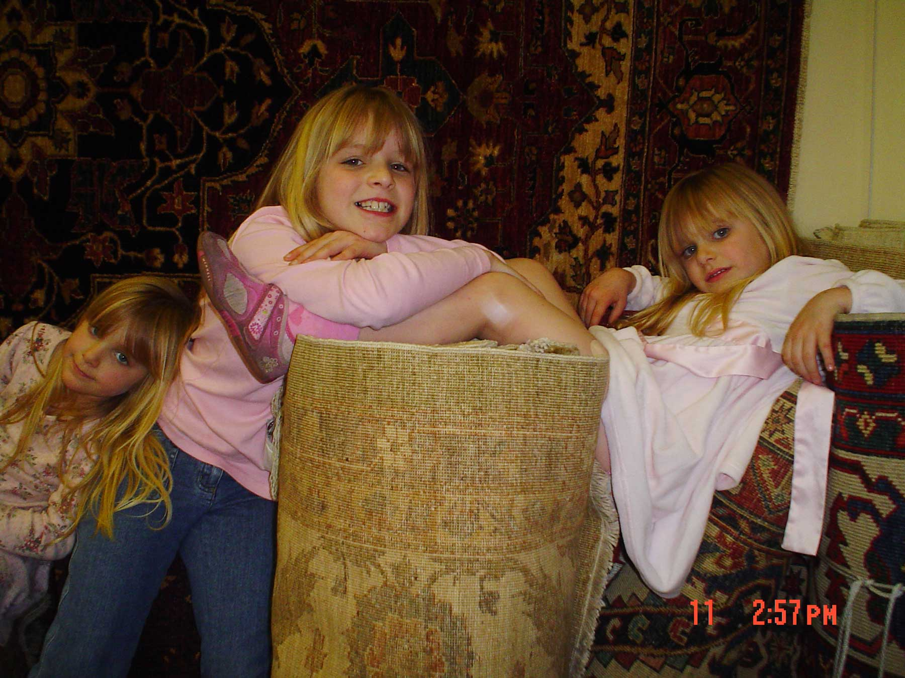 "We take care of ""rug collectors"" of ALL ages at Paradise Oriental Rugs!"