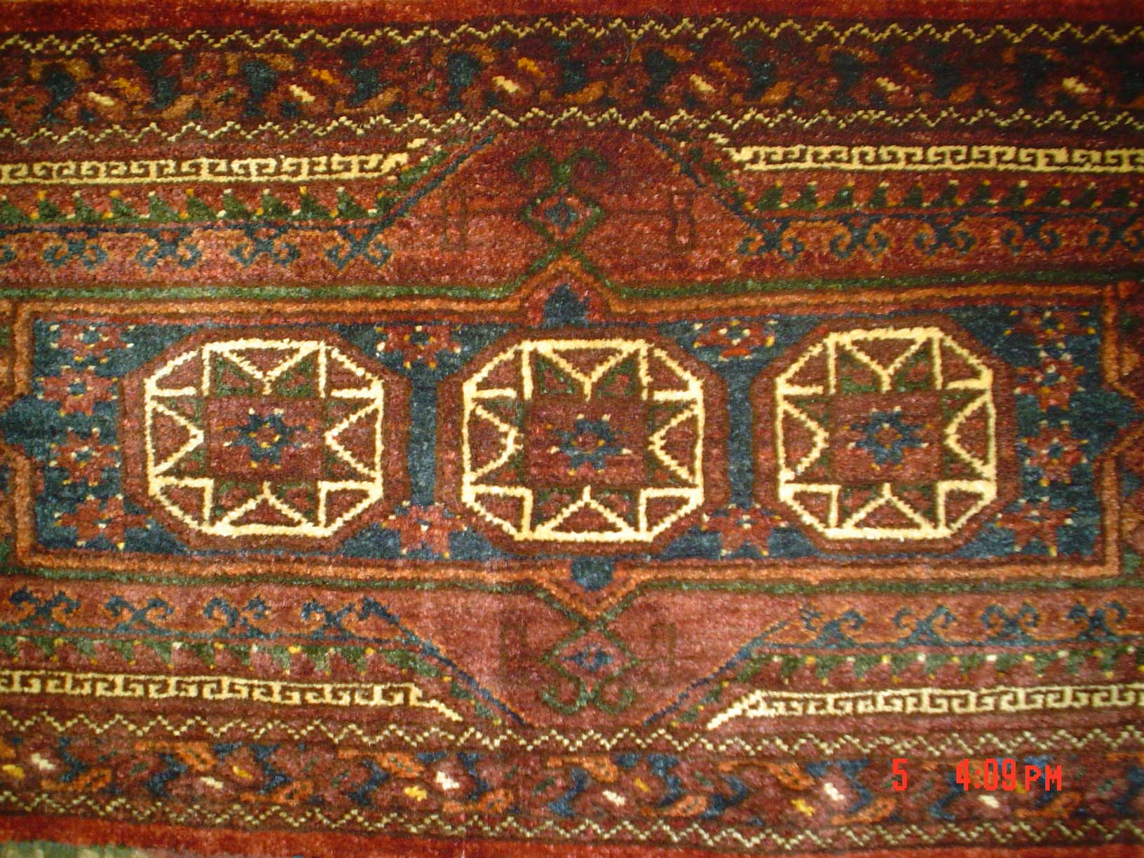 #1) Antique Balouch torba. Torba is a storage bag used by nomadic weavers.