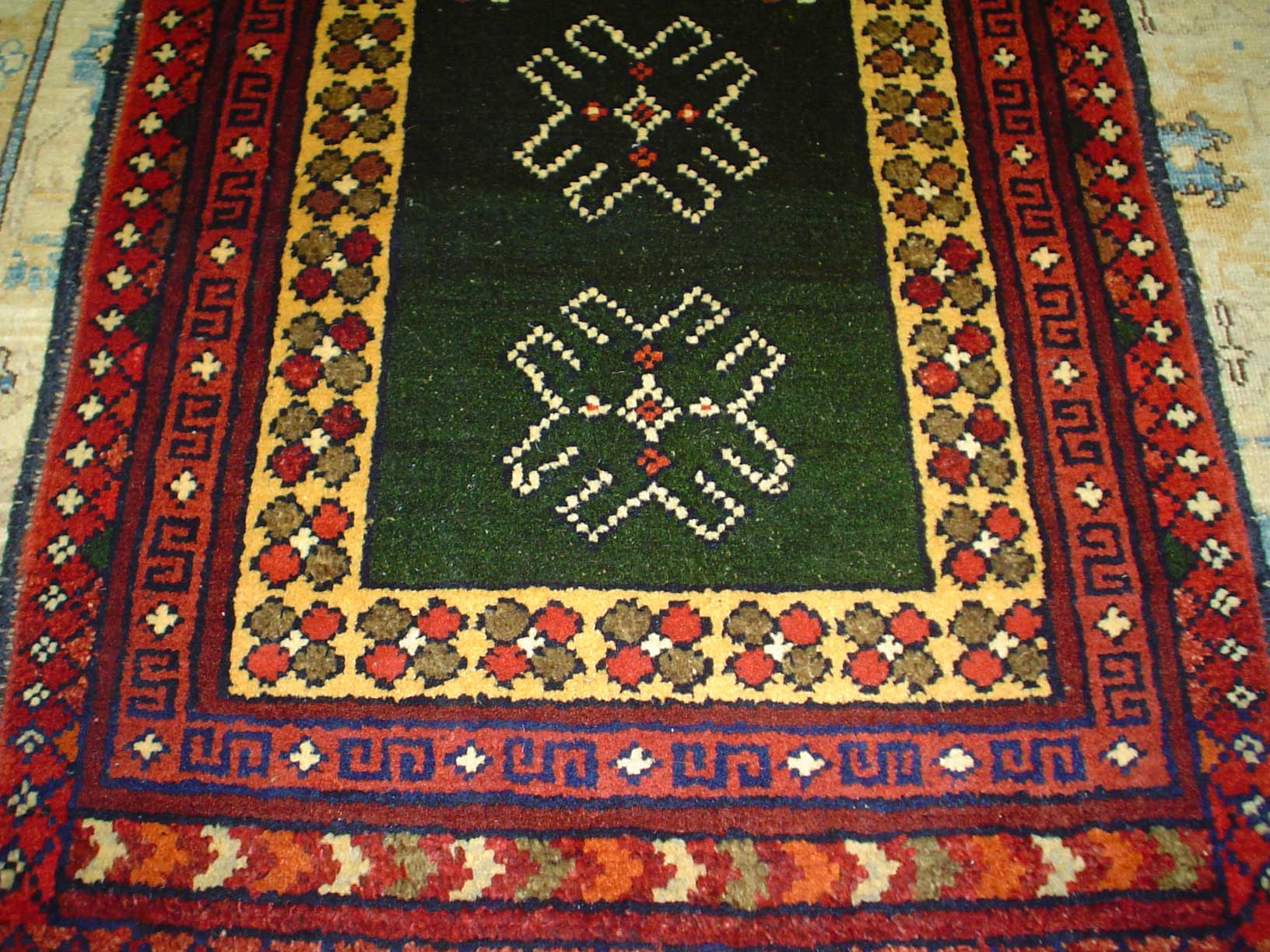 #2) Small 2 x 3 tribal rug. Afghanistan.