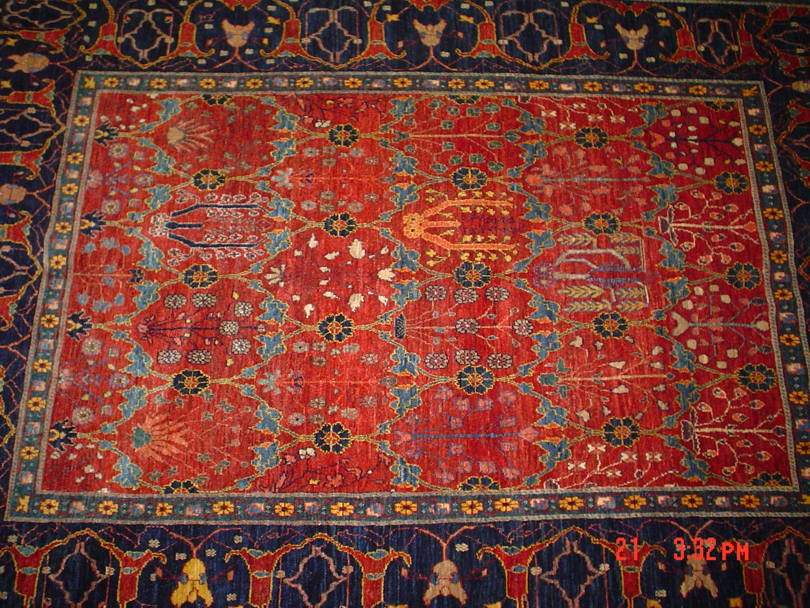 World's most beautiful Qashqai rug, ever! 6 x 8. Sold.