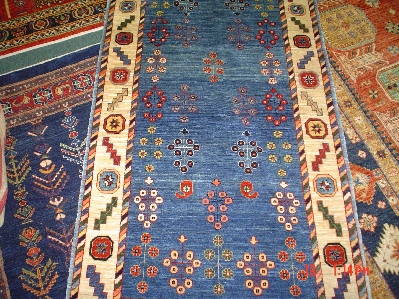 Lovely small Persian Lori runner. 2'6 x 6'. Sold.
