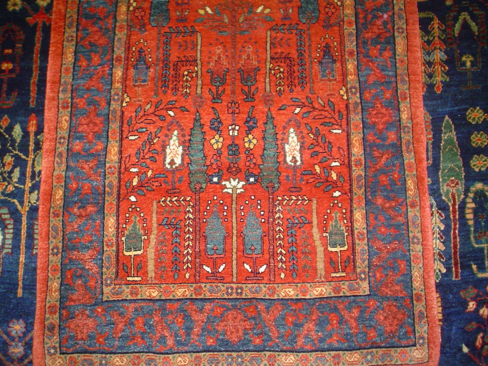"""Persian Bijar. 2'5"""" x 3'4"""" Sold."""
