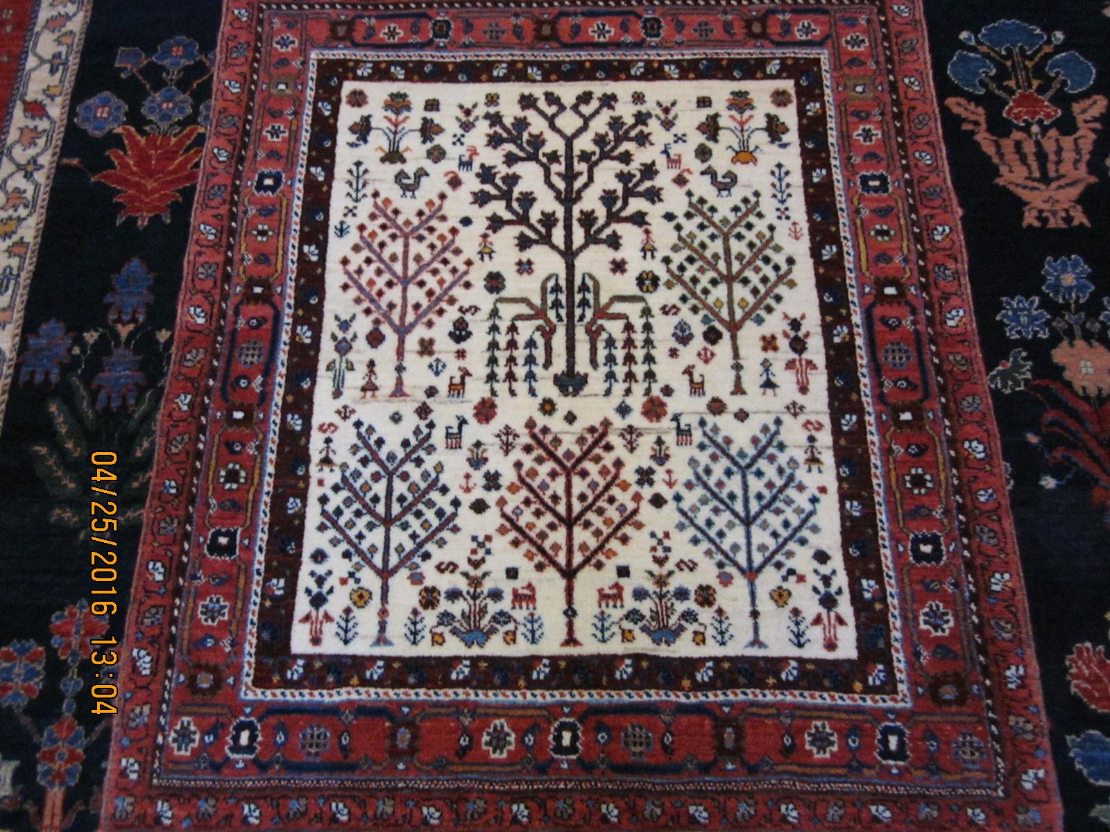 Ivory Tree of Life rug.