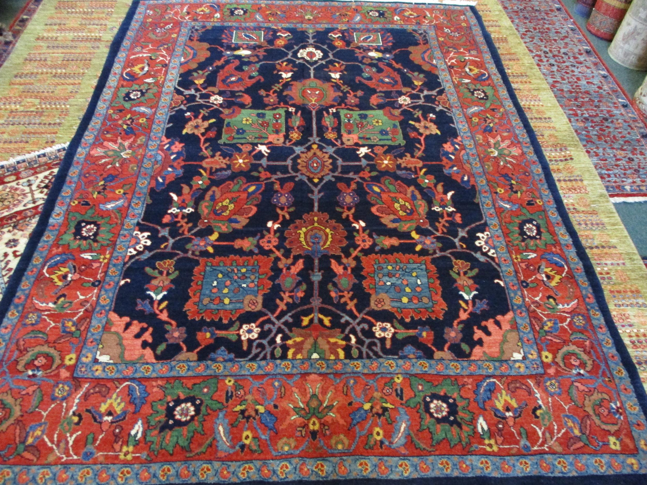 This beautiful 8 x 11 Bijar carpet has been sold.