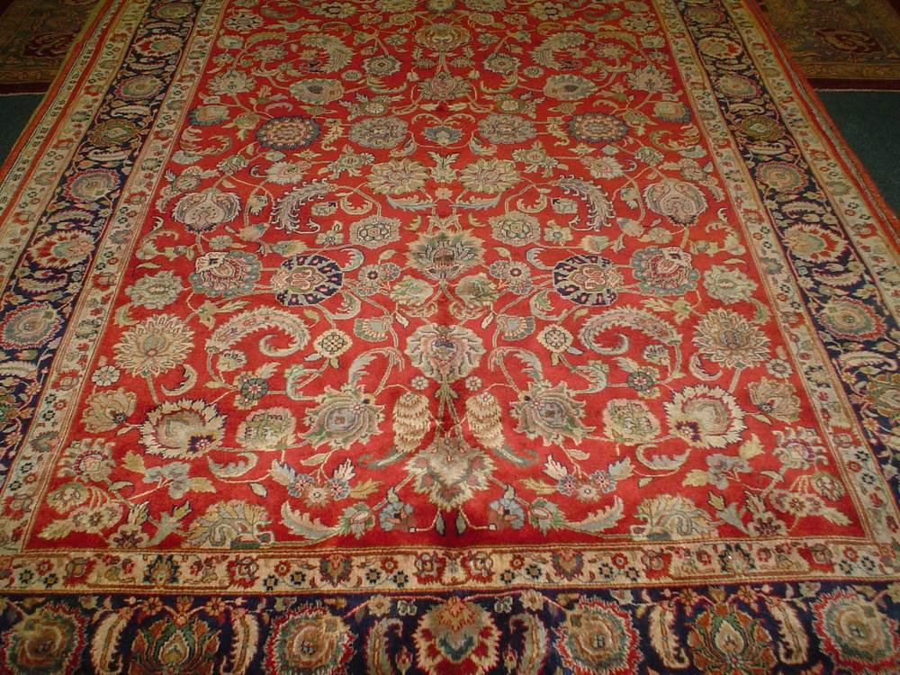 "This is an ""Indo Sarouk"", Sarouk design, woven in India. By all definitions it is an Oriental rug but not noteworthy."