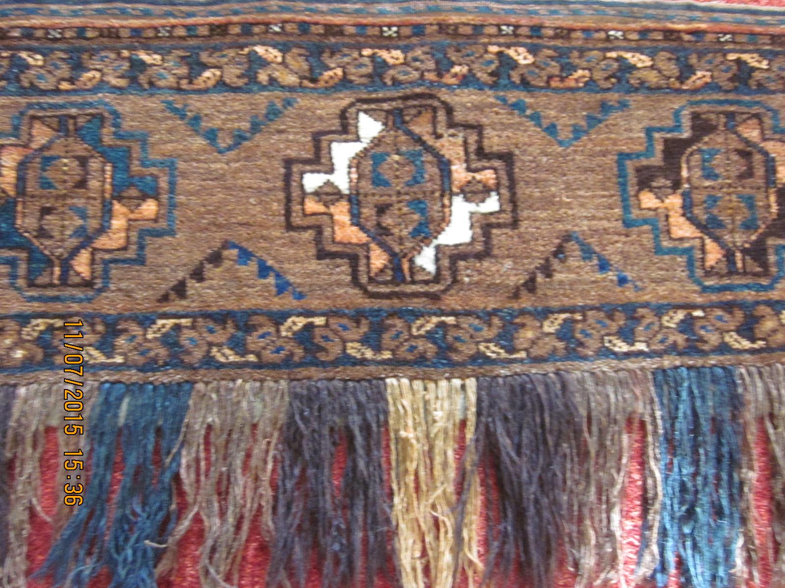 Balouch Torba close-up.