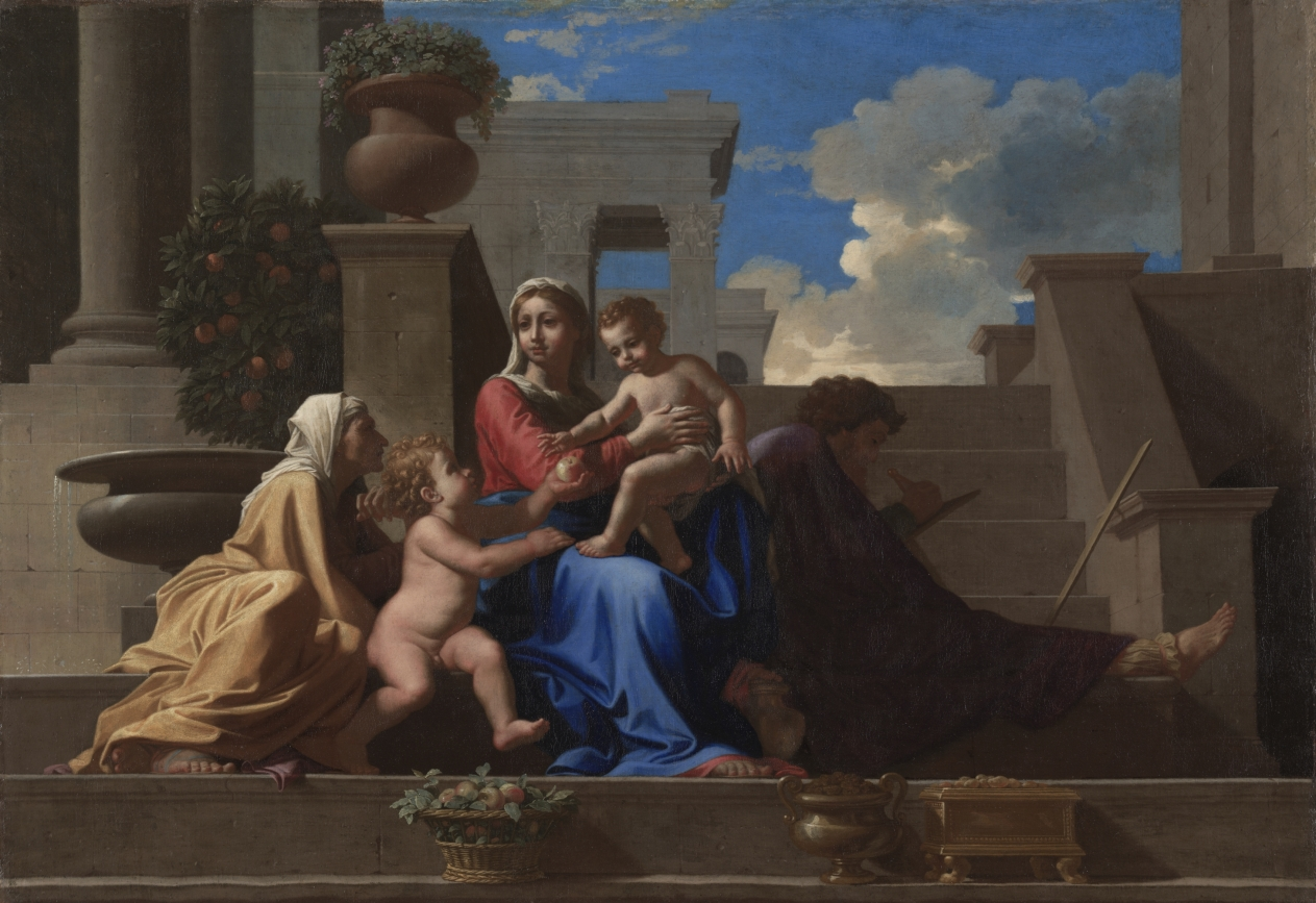 Poussin Holy Family on the Steps.jpg
