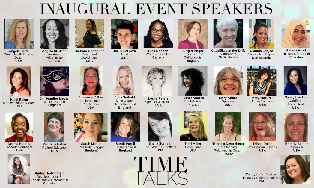 These 29 women come from different areas of the globe and work in almost as many different fields. Their varied backgrounds allow to to better understand the world we live in through these messages from all around the globe!