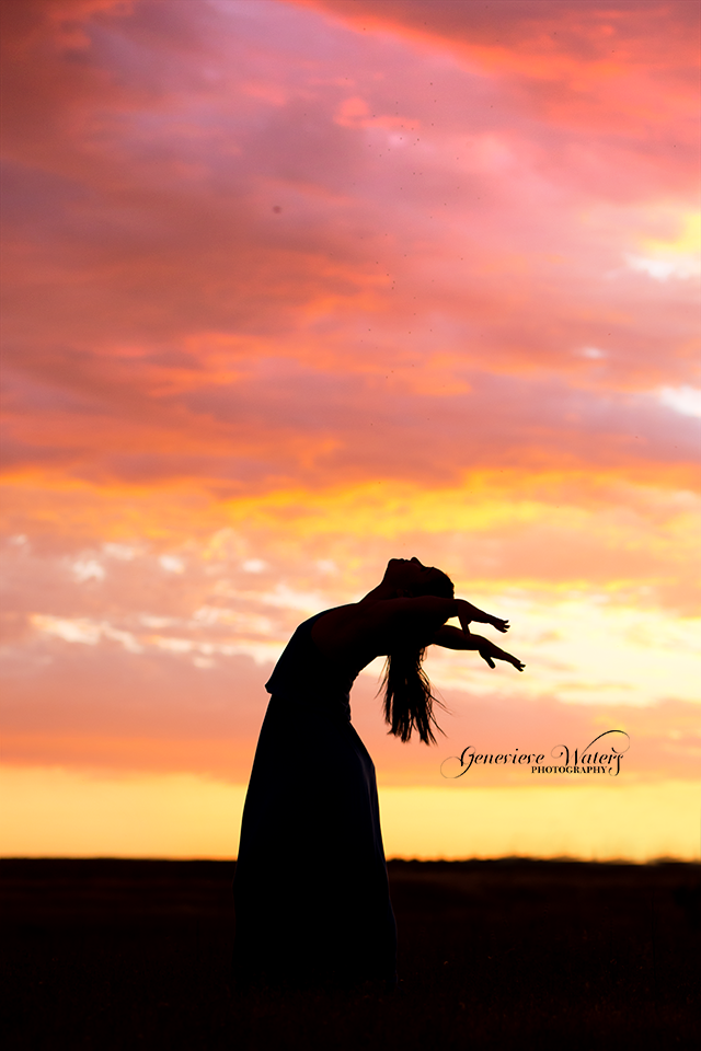 Oroville Photographer | Silhouette Photography | Dance Photography