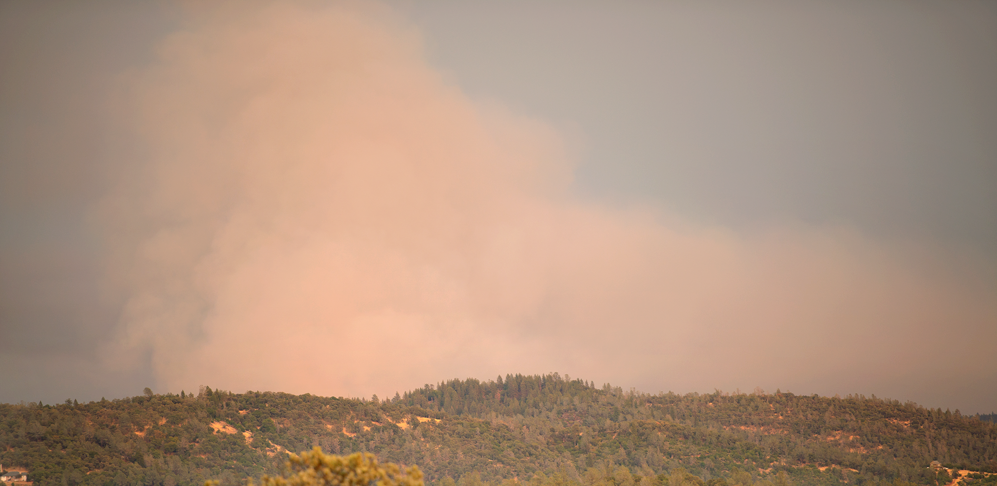 This is the closest we got the the fires. I am so grateful it isn't any closer to us!