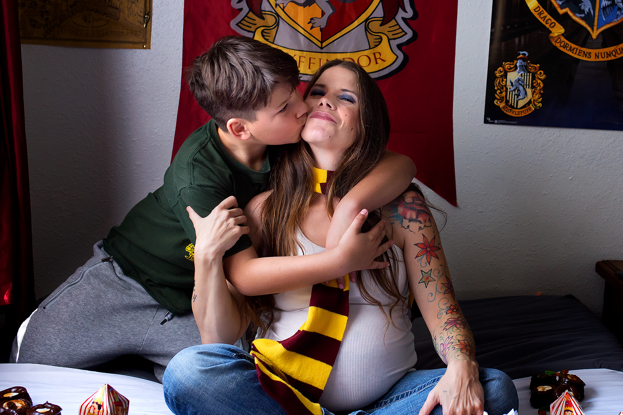 Harry Potter Pregnancy reveal, Oroville photography  (13).jpg