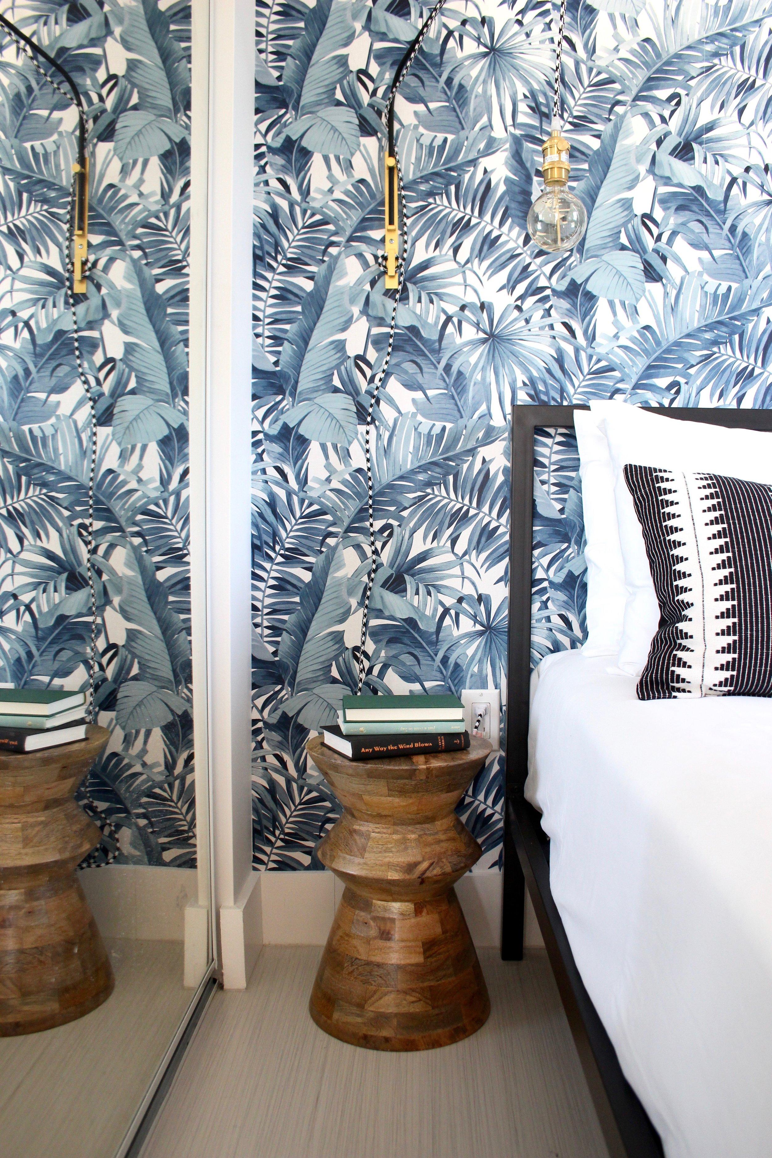 whimsical wynwood studio - bedroom - miami interior design - the habitat collective