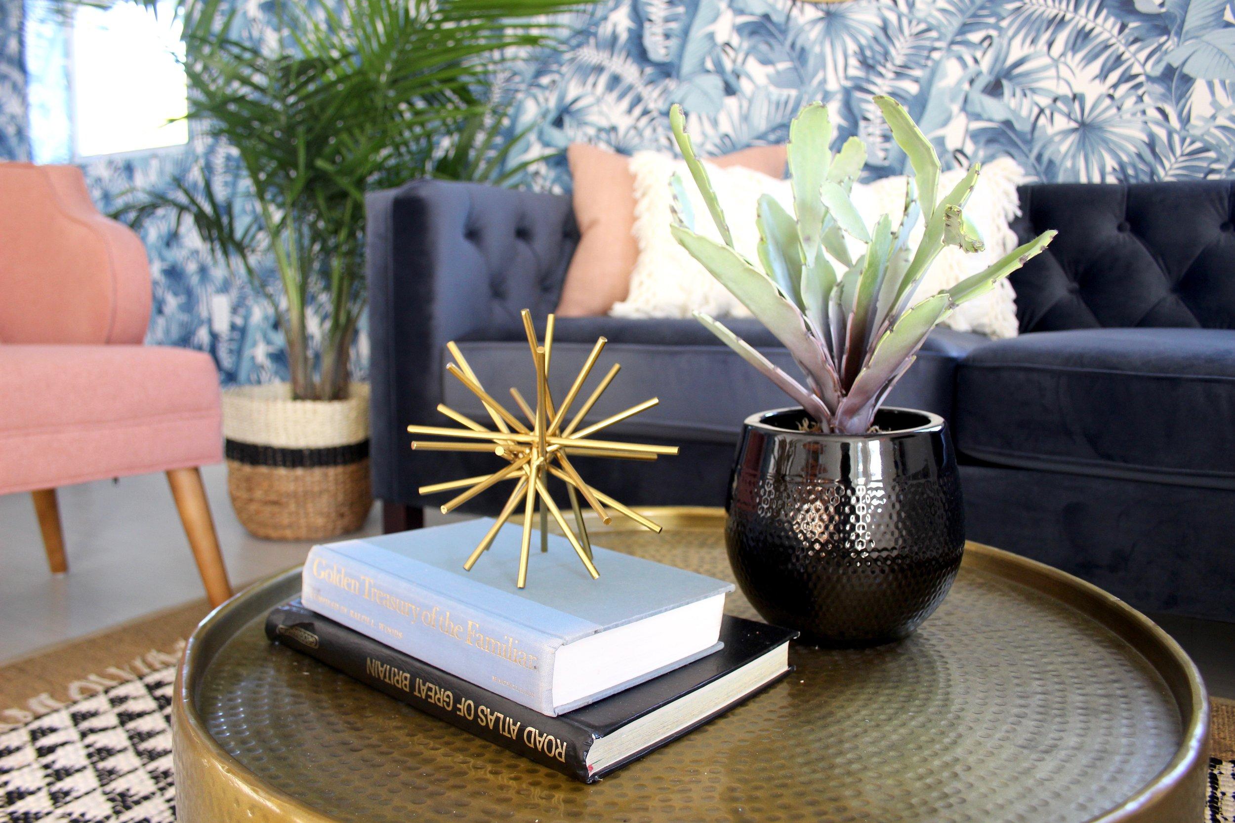 whimsical wynwood studio - living room - miami interior design - the habitat collective