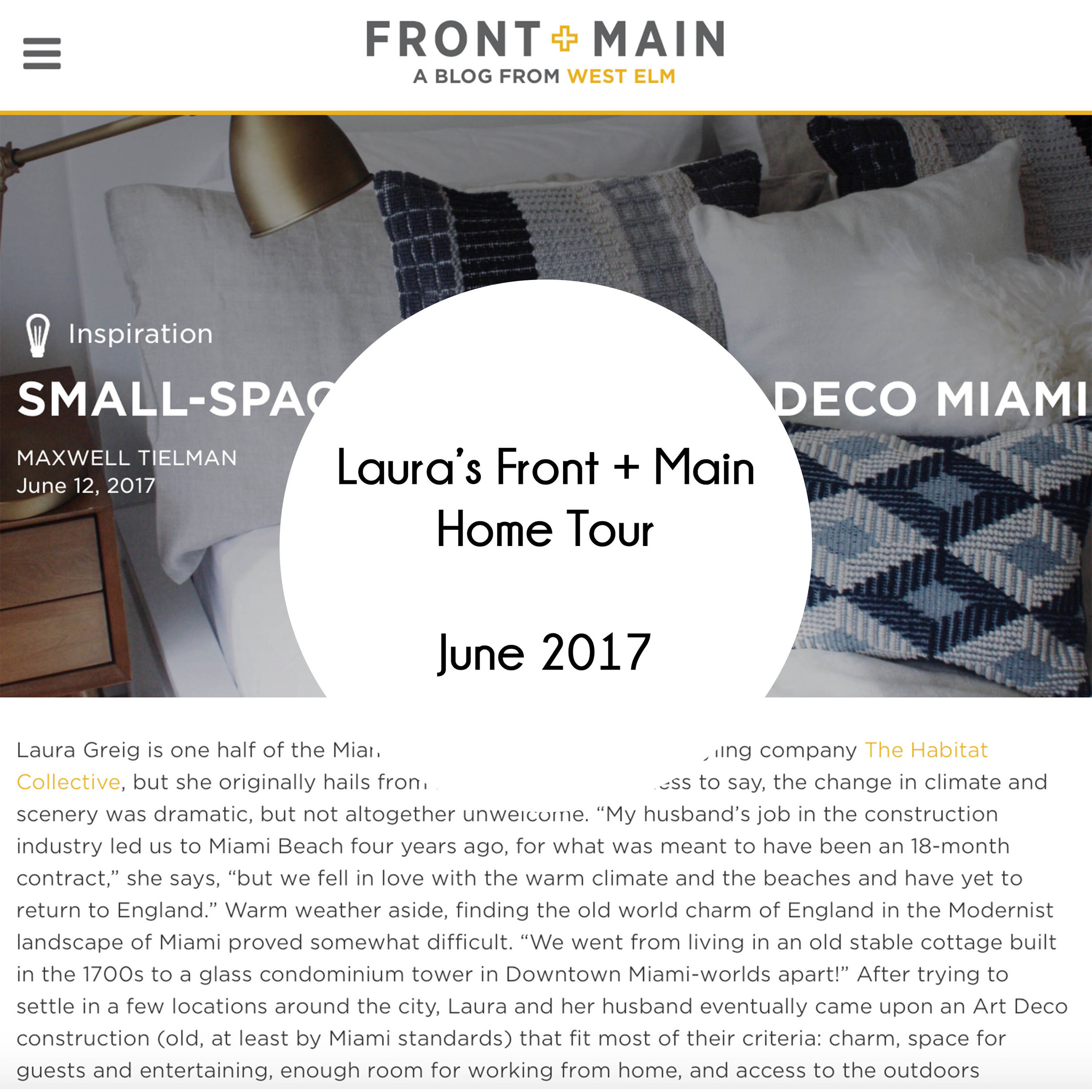 Laura Front and Main Home Tour Rollover