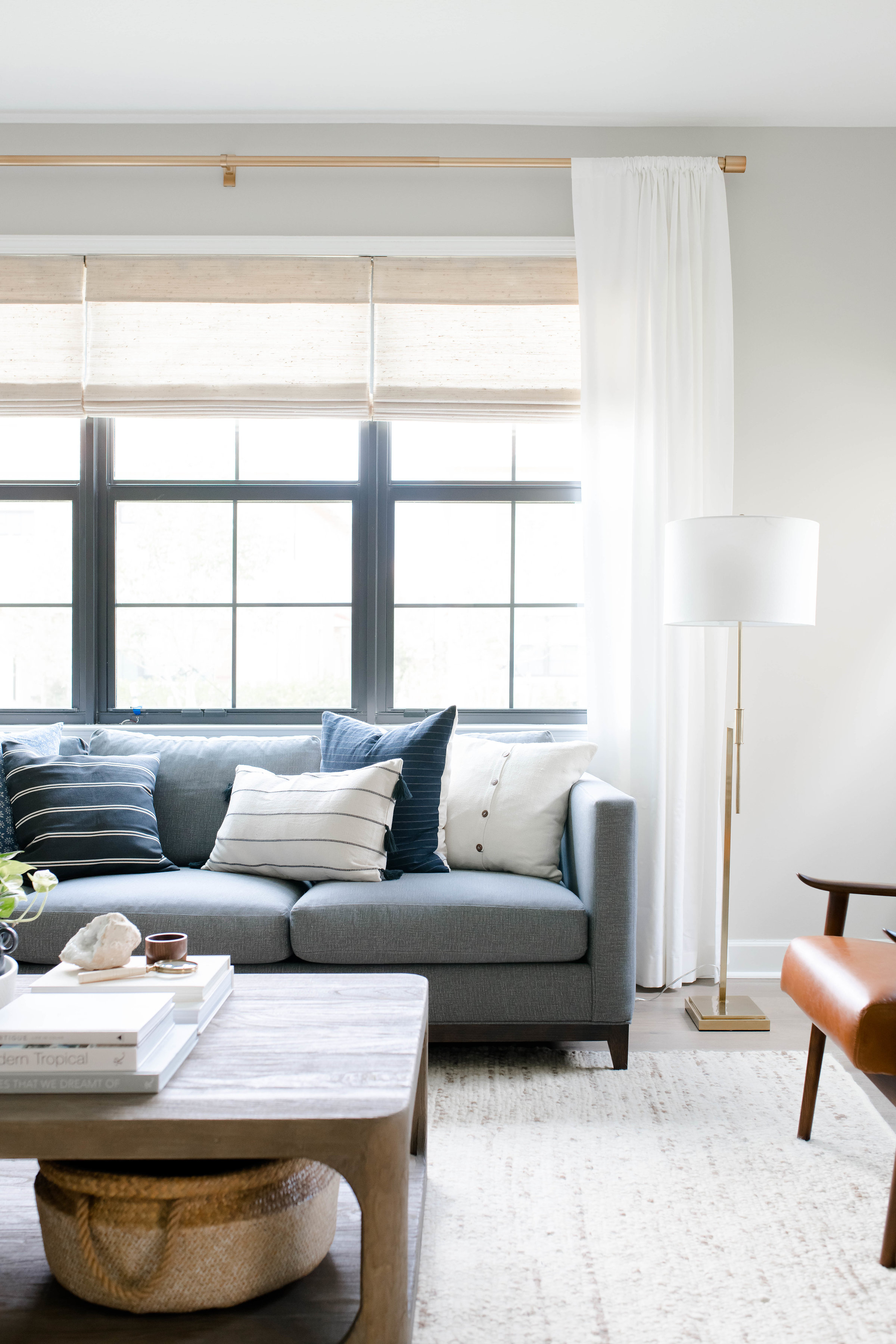 parkland project living room - the habitat collective - interior design