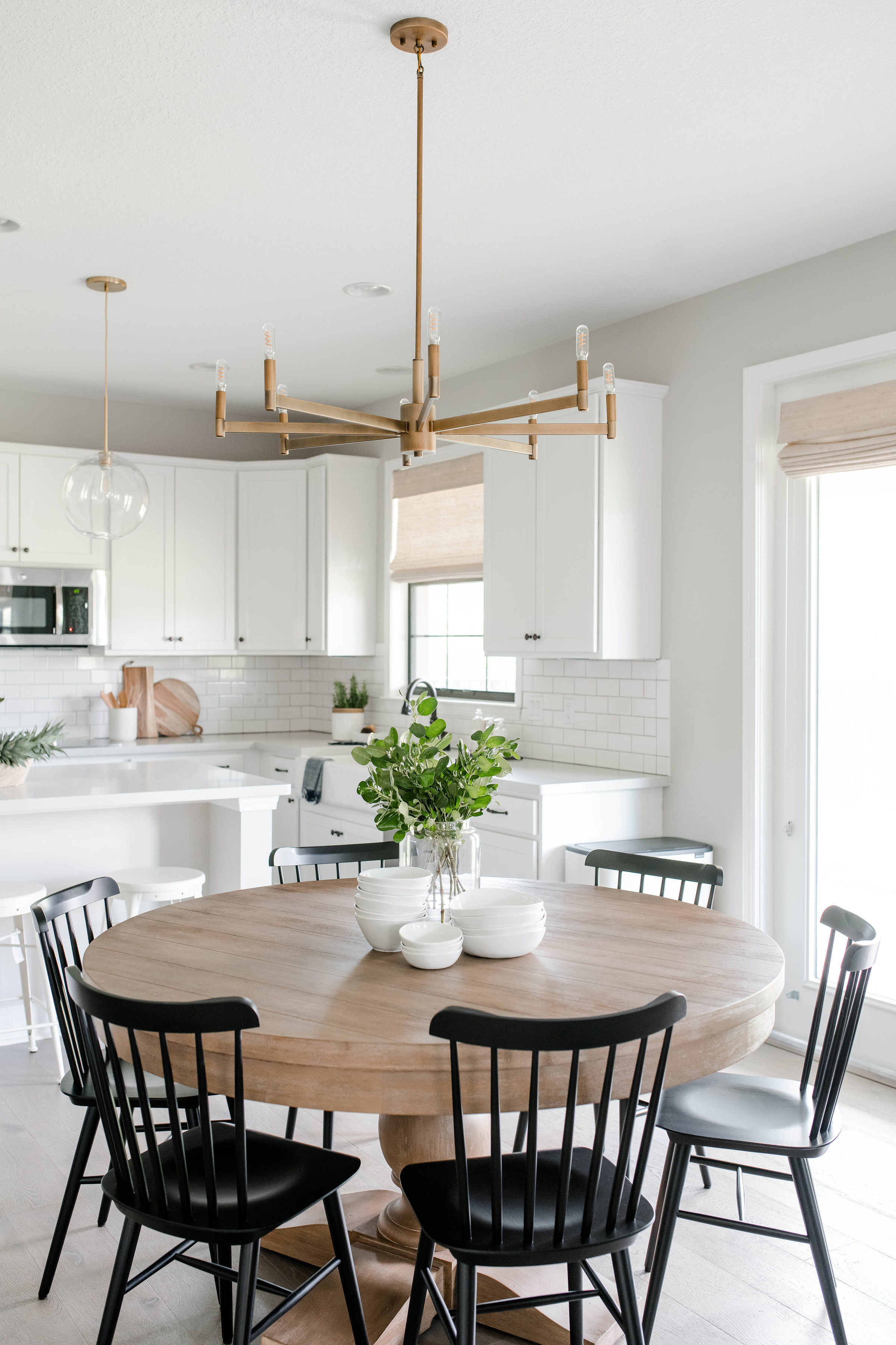 parkland project dining room - the habitat collective - interior design