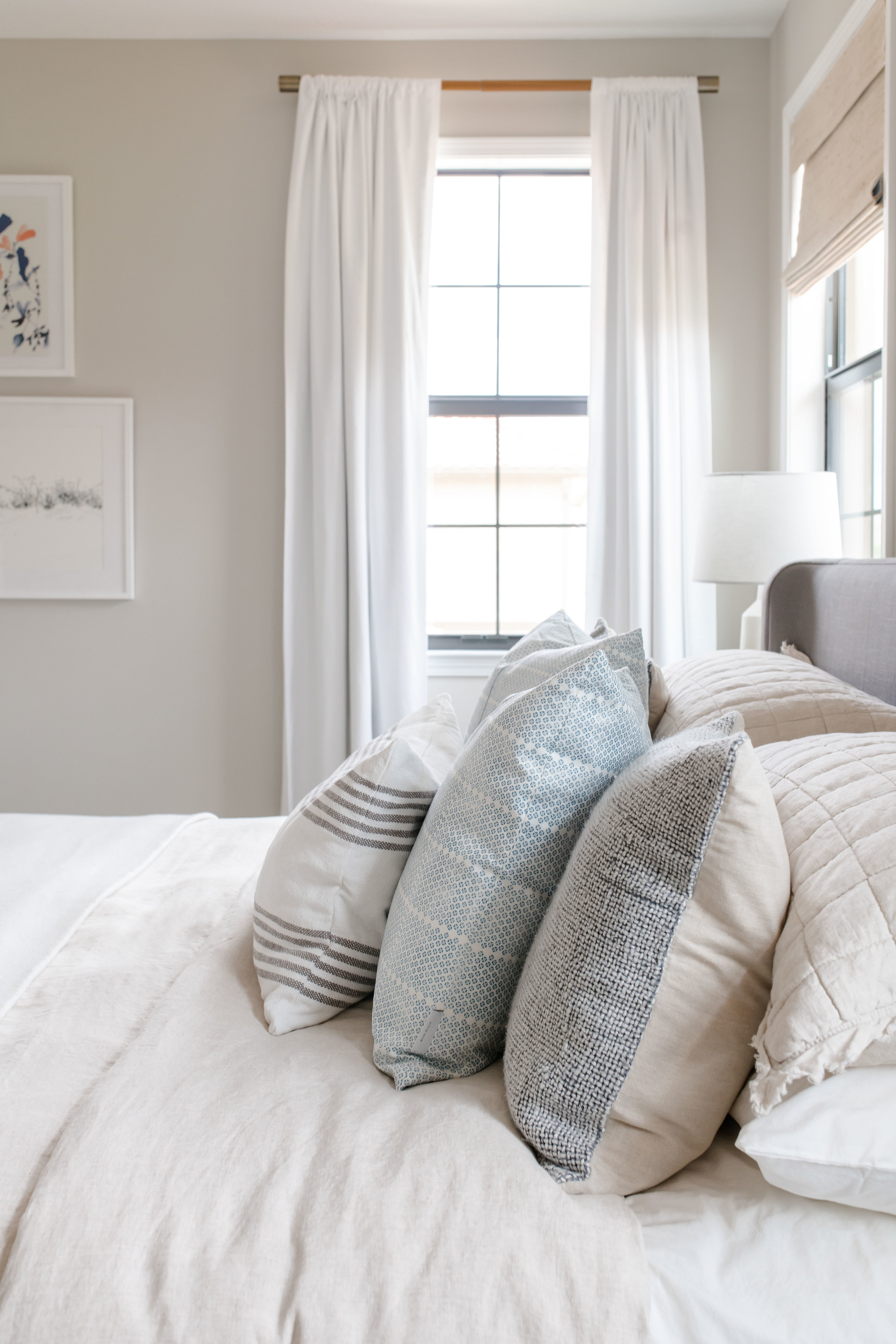parkland project master bedroom - the habitat collective - interior design
