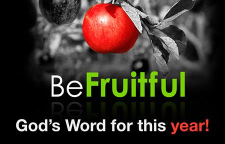 Be Fruitful  Jerry Dirmann Jan. 17, 2016