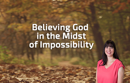 Believing God  Francesca Phillippi Jan. 03, 2016