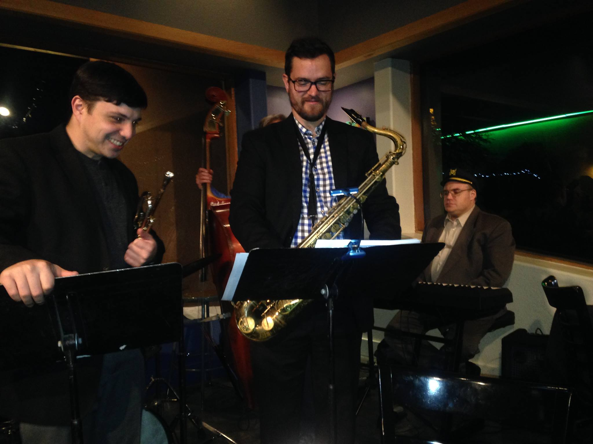 At Pastiche with the Pete Swan Quintet