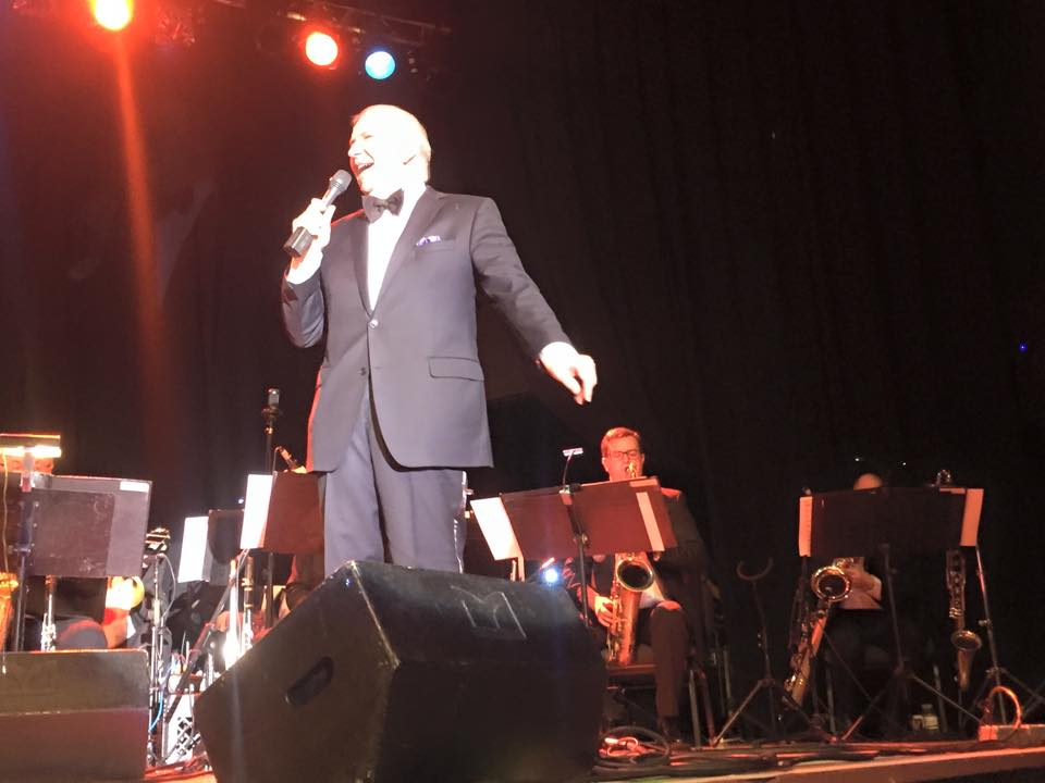 Performing with Frank Sinatra Jr.