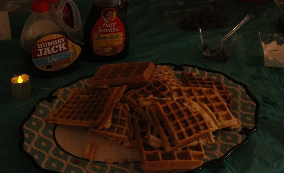 waffles=progress!