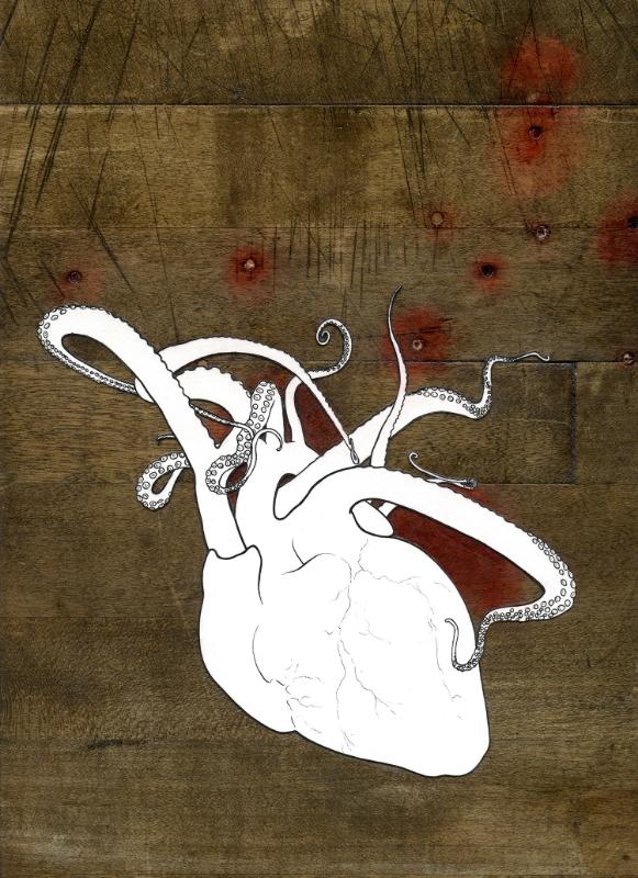 reaching heart