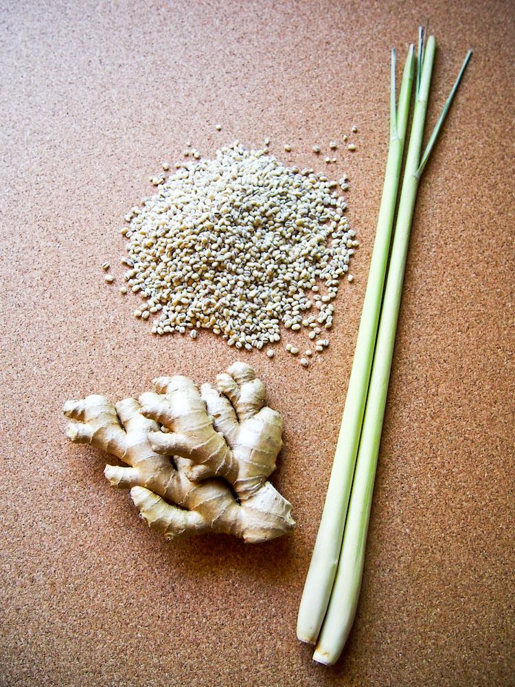 Lemongrass Ginger Barley Tea | vermilionroots.com