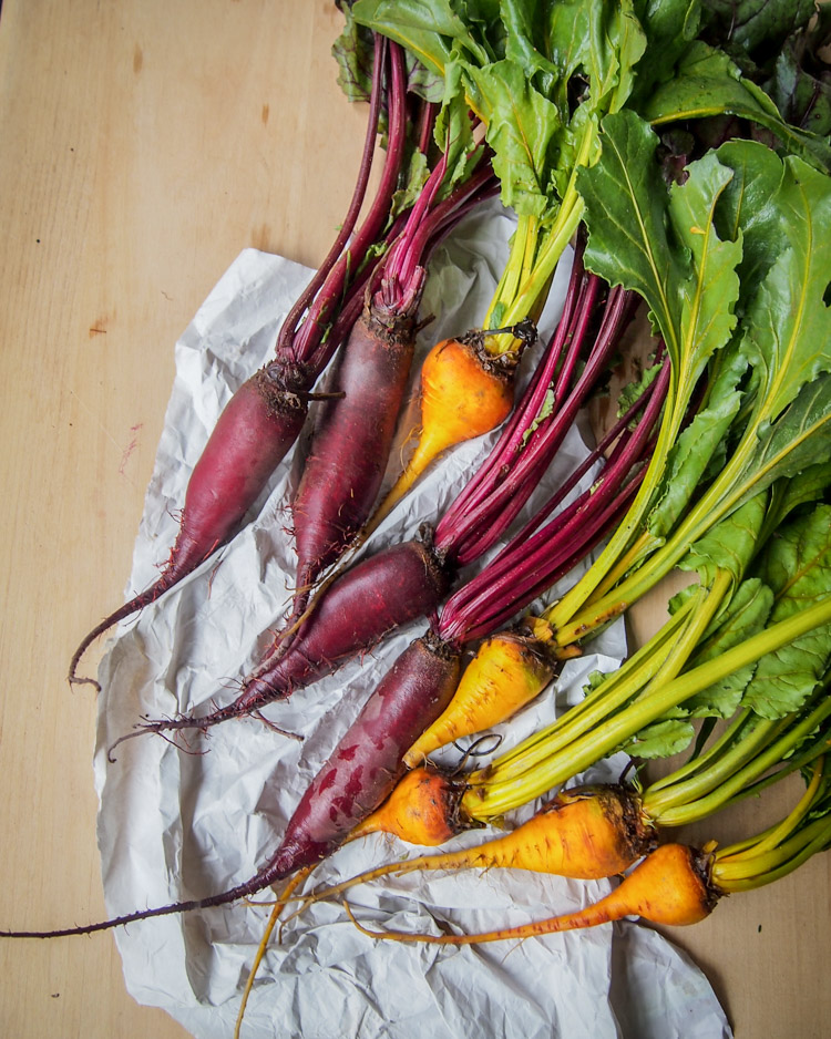 Spring Discovery: How to Cook the Season's Best on VermilionRoots.com. Featured vegetable of the week: beetroot.