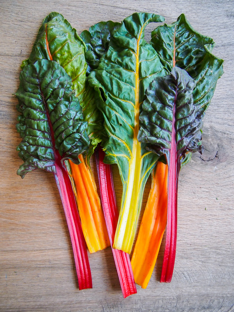 Asian Rainbow Chard Wraps Vermilion Roots