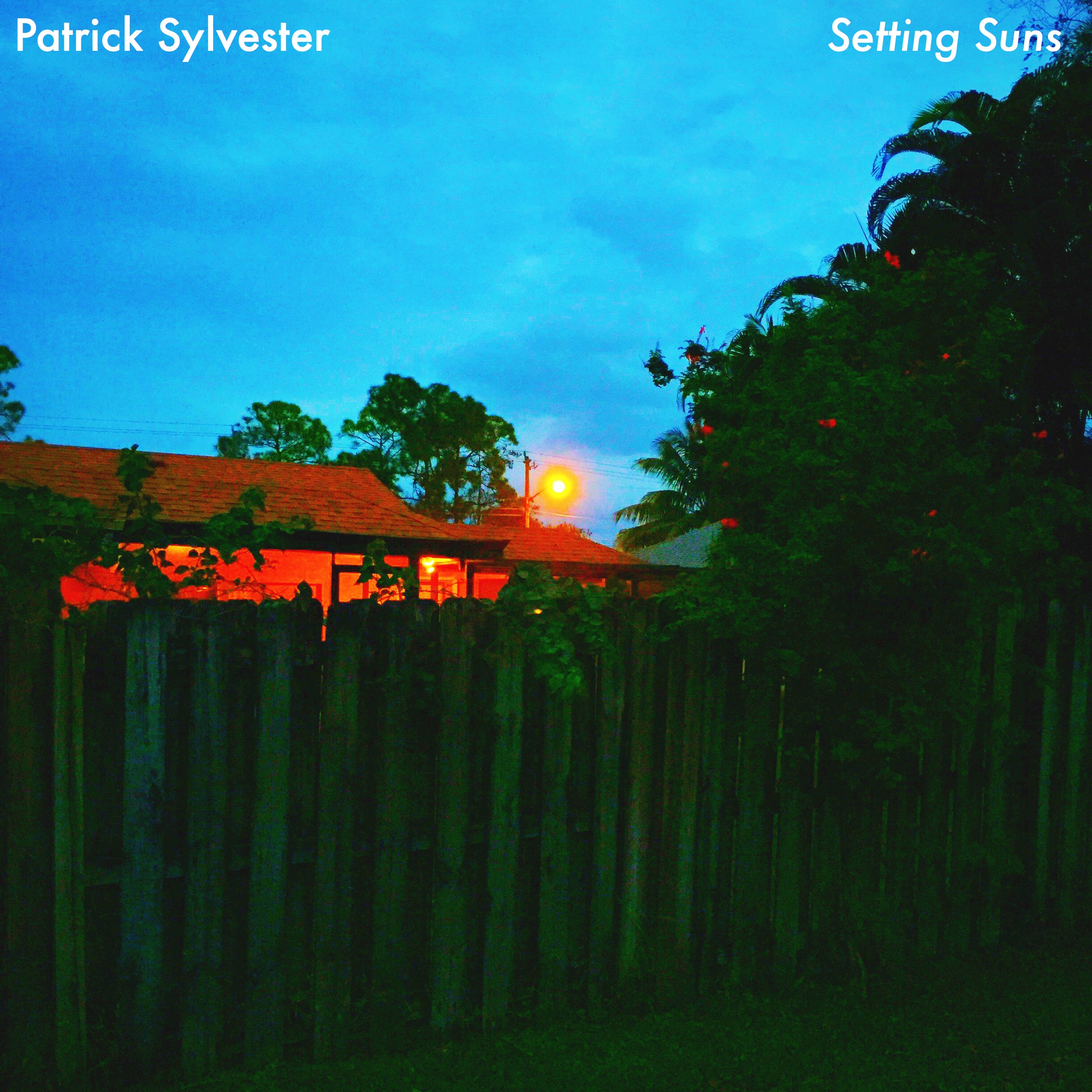 Setting Suns - EP  Release Date: February 8th, 2016   Cover Art: Patrick Sylvester (Photographer)   SoundCloud:     Setting Suns - EP