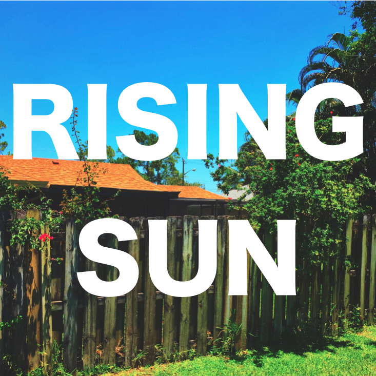 Rising Sun - EP  Release Date: March 17th, 2017 Cover Art: Patrick Sylvester (Photographer) iTunes & Apple Music:     Rising Sun - EP     Spotify:     Rising Sun - EP     SoundCloud:     Rising Sun - EP