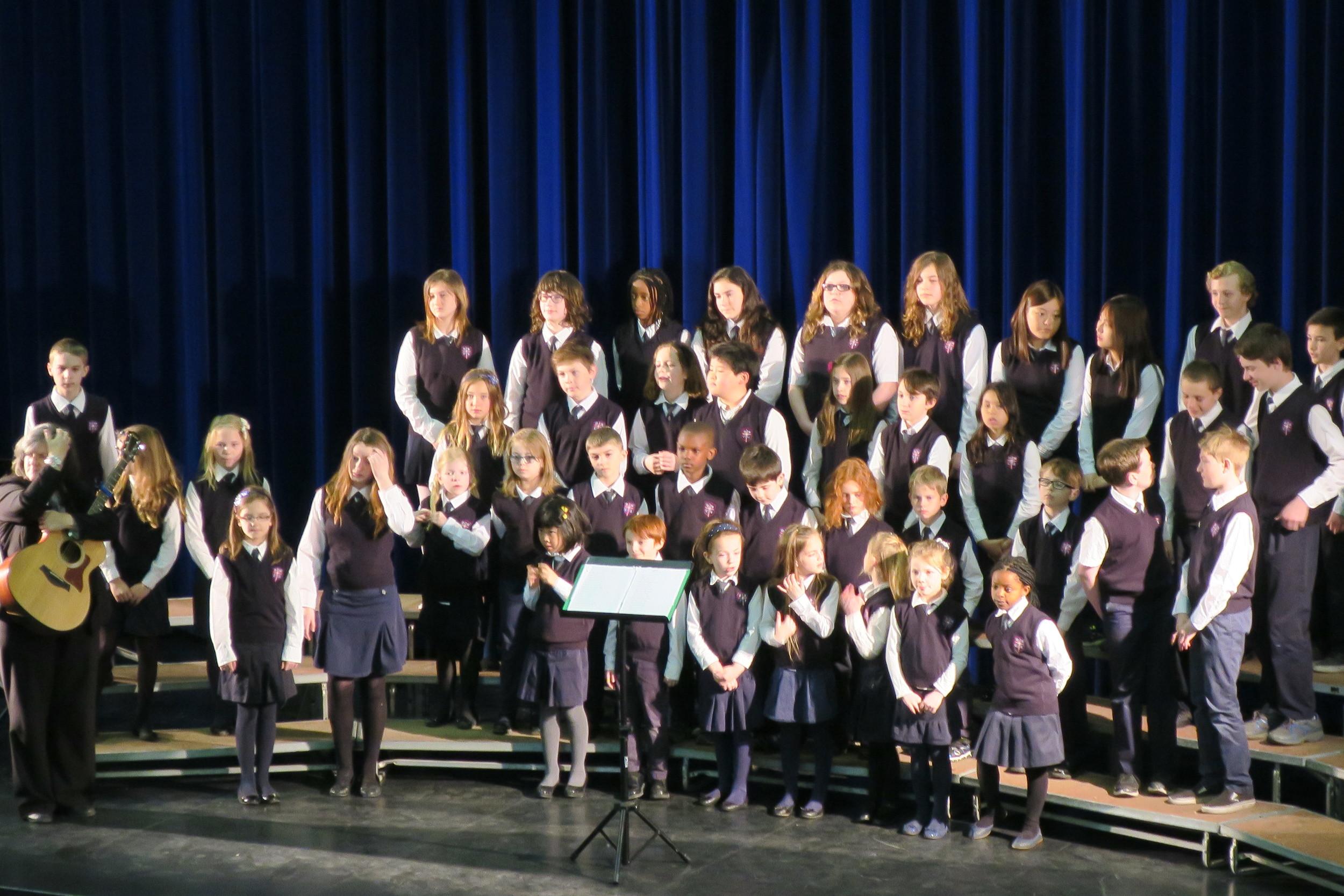 DMCS Choir NB Festival of Music Winners