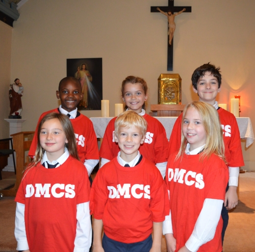 DMCS Cross Country Team