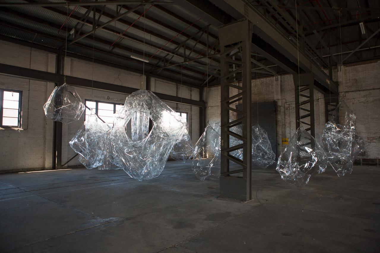 Mikala Dwyer, The Hollows, 2014   19th Biennale of Sydney, curated by Juliana Engberg, Cockatoo Island, Sydney