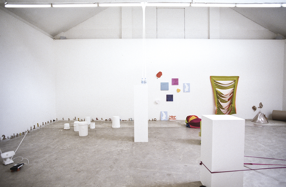 Mikala Dwyer, Hollow-ware and a few solids, 1995, Sarah Cottier Gallery, Sydney