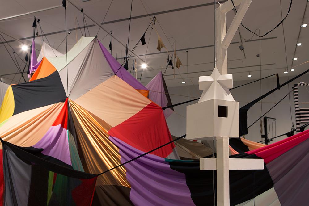 Mikala Dwyer, Square Cloud Compound | Mikala Dwyer: MCA Collection, 2015-2016, Museum of Contemporary Art Australia (photo: Jessica Maurer)